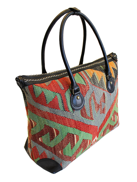 Borsa da viaggio in kilim - Medium
