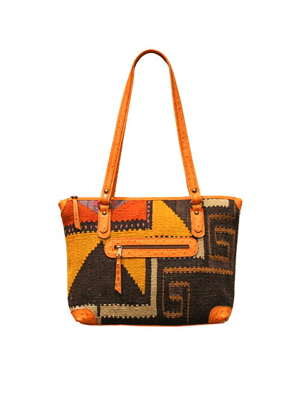 Kilim shopping bag - Efeso